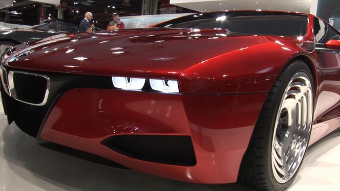 Vidéo en direct de Rétromobile 2013 - La M1, point de mire du stand BMW