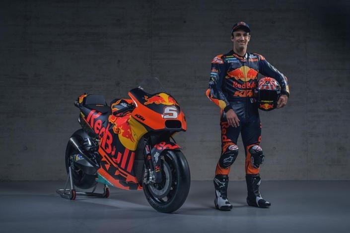 MotoGP - KTM: Johann Zarco montre ses nouvelles couleurs