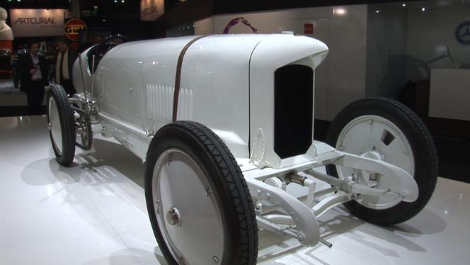 Vidéo Rétromobile 2013 - Le patrimoine Mercedes exposé à tous les regards