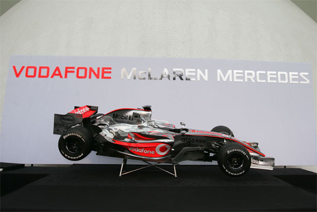 pr sentation de la nouvelle mclaren mercedes valence. Black Bedroom Furniture Sets. Home Design Ideas