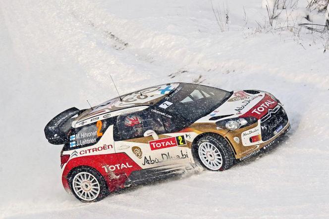 WRC Suède : Ogier domine la spéciale de qualification
