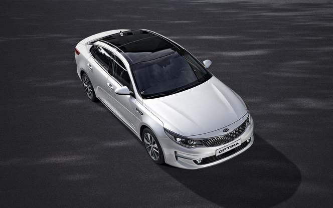 Salon de Francfort 2015 - Kia Optima : officielle en Europe