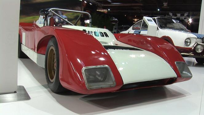 Vidéo Rétromobile 2013 - F3, course de côte ou rallye, tout pour le sport chez Skoda