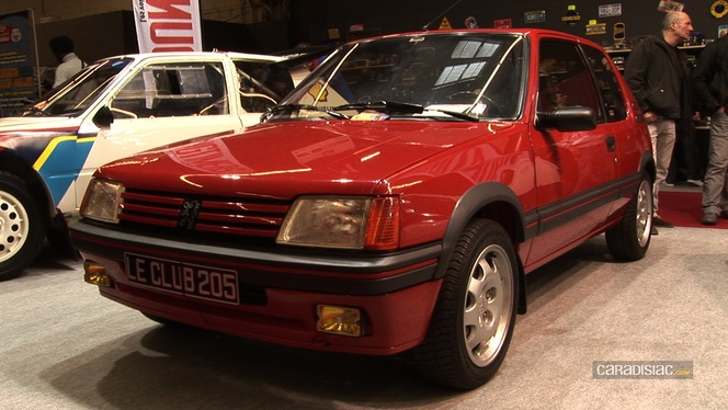 En direct de Rétromobile 2013 - Peugeot 205 : happy 30 ans to you !