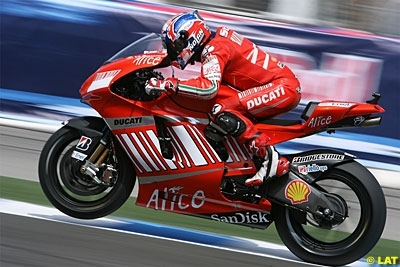 Moto GP - Laguna Seca D.2: Les jours se suivent et se ressemblent pour Stoner et Bridgestone