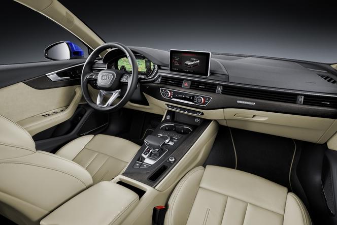 Salon de Francfort 2015 - Audi A4 : légère rupture