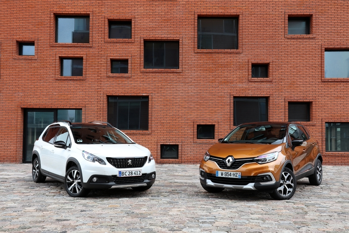 comparatif vid o renault captur restyl vs peugeot 2008 la revanche. Black Bedroom Furniture Sets. Home Design Ideas