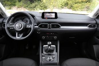 Un peu plus de fantaisie chez Mazda mais l'écran est trop petit