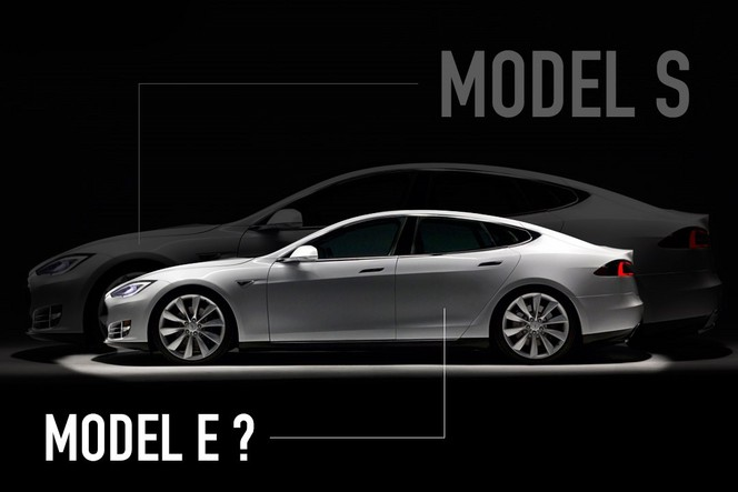 Tesla abandonne l'appellation Model E