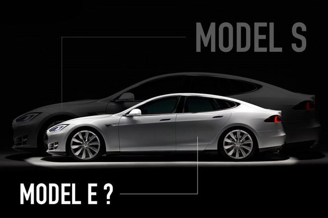 Tesla abandonne l'appellation Model E