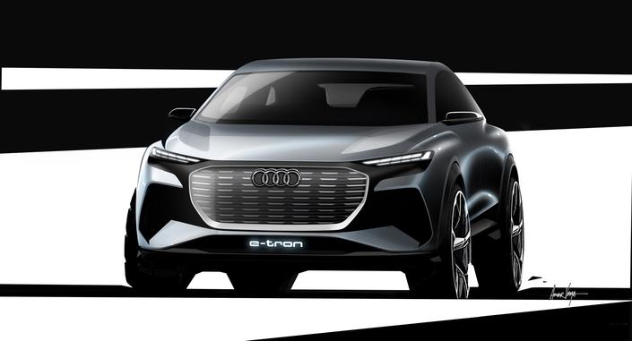 Salon de Genève 2019 - Audi annonce le concept Q4 e-tron