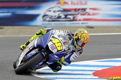 Moto GP - Lagune Seca D.3: Rossi, comme Rocky !