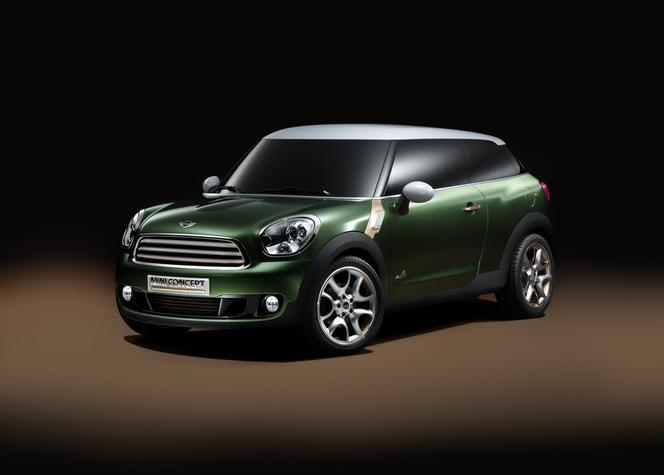 mini paceman le coup countryman est pr t. Black Bedroom Furniture Sets. Home Design Ideas