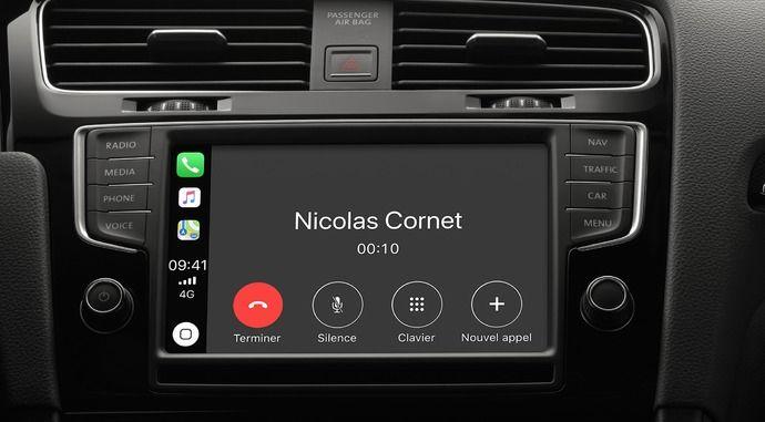 Connectivité - Android Auto, Apple CarPlay et MirrorLink