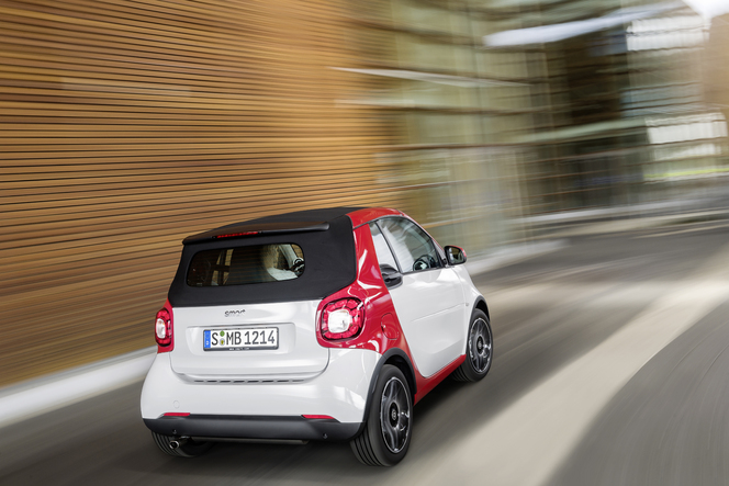 Salon de Francfort 2015 : Smart Fortwo cabrio officialisée : de l'air