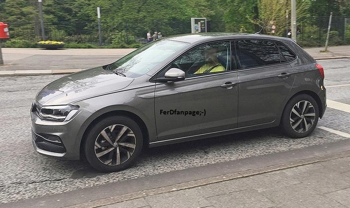 Derniers réglages pour la future Volkswagen Polo