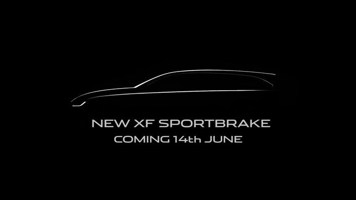 La nouvelle Jaguar XF Sportbrake se dévoilera le 14 juin