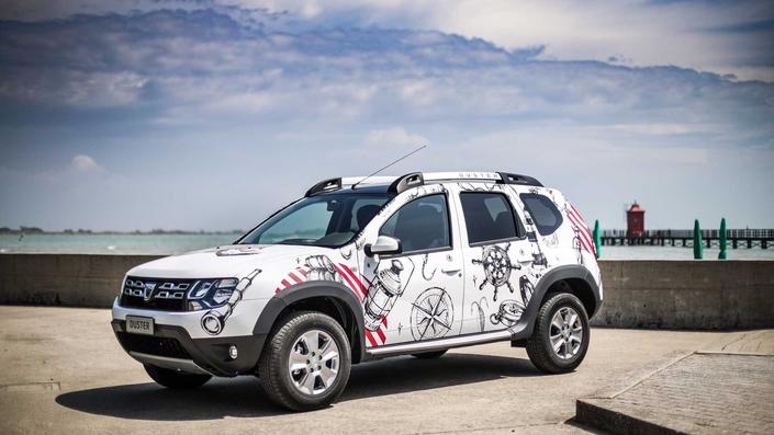 """Dacia : le Duster """"strongman"""" en série limitée"""