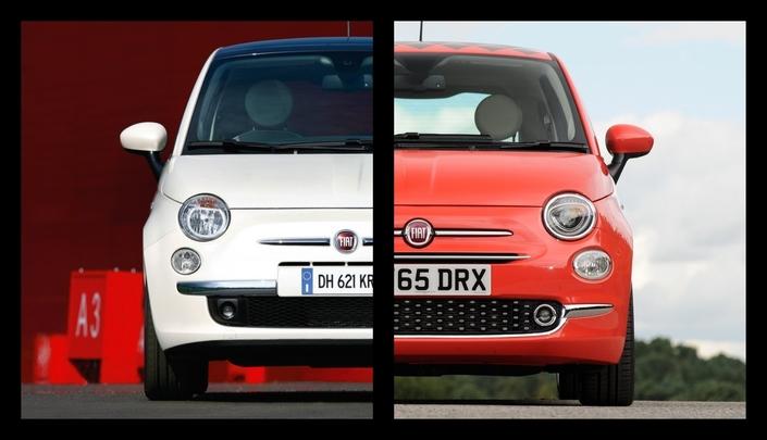 """Avant/après : tout savoir sur la """"nouvelle génération"""" de la Fiat 500"""