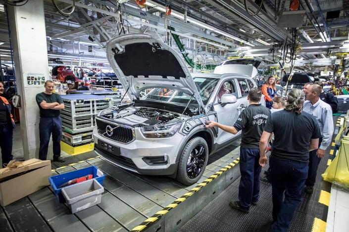 Volvo lance la production du XC40 en Belgique