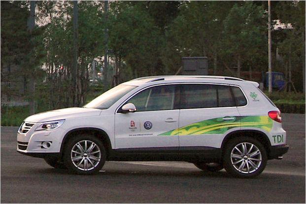 Jeux Olympiques de Pékin : 5 000 véhicules Volkswagen au rendez-vous