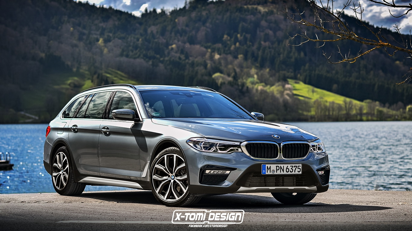 la nouvelle bmw s rie 5 touring imagin e en break sur lev. Black Bedroom Furniture Sets. Home Design Ideas
