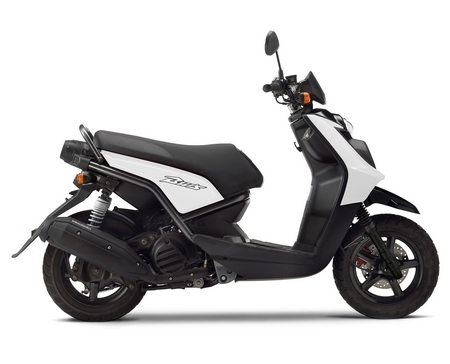 Nouveauté Yamaha 2010 : Plus de punch avec le BW's 125
