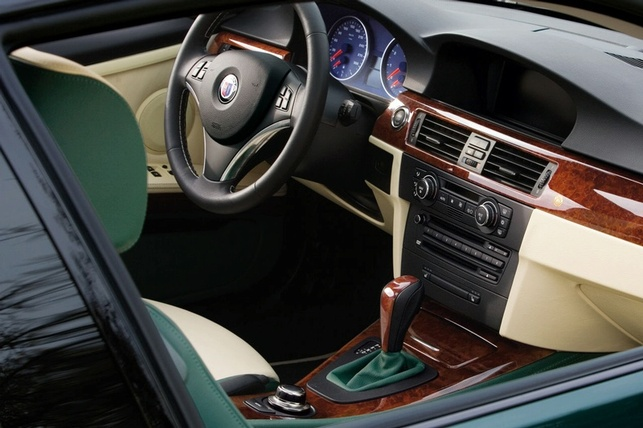 Zoom sur la BMW Alpina D3 bi-turbo Coupé