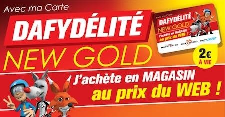 Dafy La Carte Dafydelite New Gold