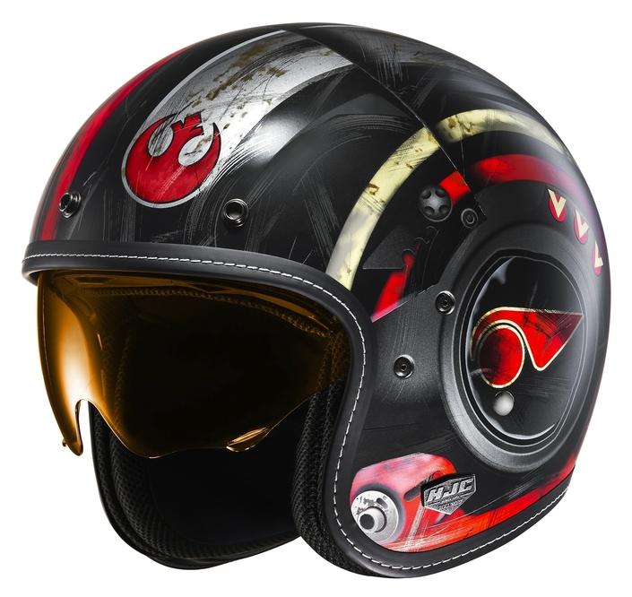 HJC FG-70's Luke Skywalker: je suis ton casque