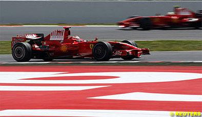 Formule 1 - Ferrari: Pas de nez troué en Turquie
