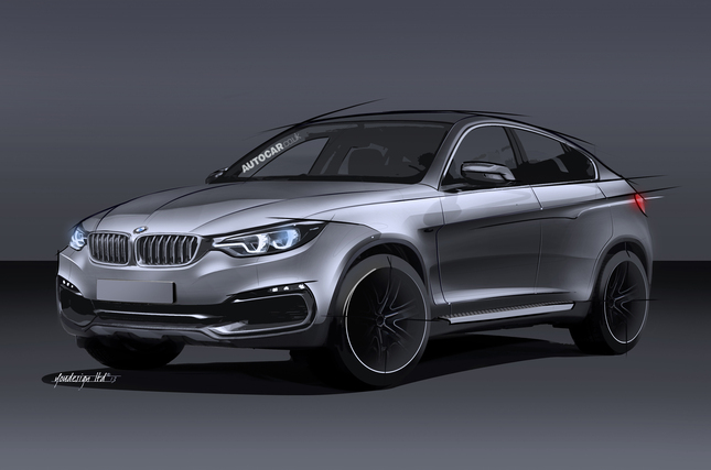 Futur BMW X6 : comme ça ?