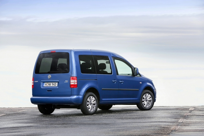 Volkswagen Caddy BlueMotion: commandes ouvertes