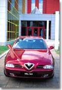 Alfa Romeo 166 : routière et sensuelle