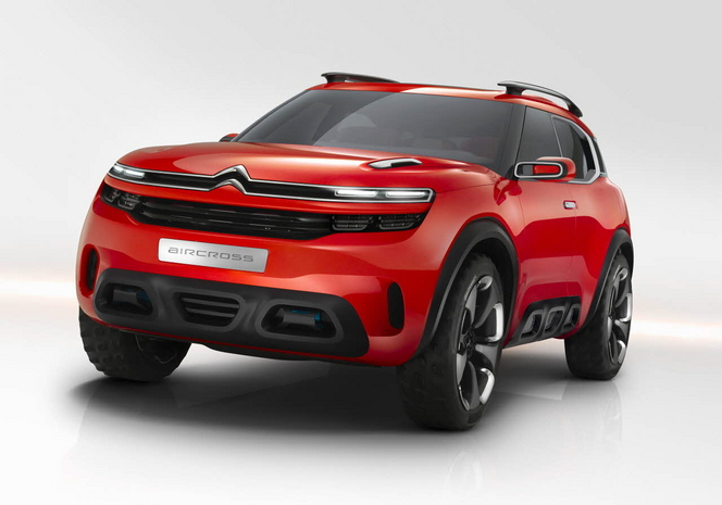 Salon de Francfort 2015 - Citroën Aircross : Excitante