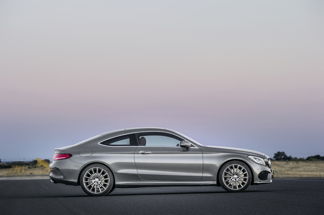Salon de Francfort 2015 - Mercedes Classe C Coupé: raCée