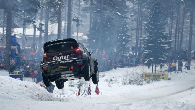 WRC Suède - Jour 2 : Ogier contrôle Loeb, les Ford remontent