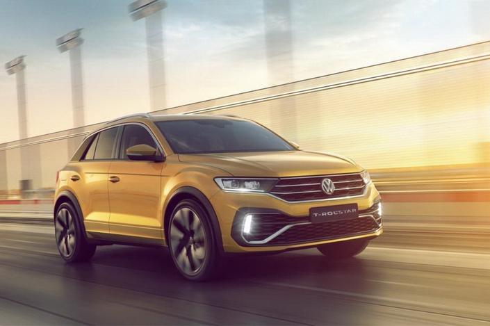 Volkswagen T-Rocstar concept : un air de T-Roc R