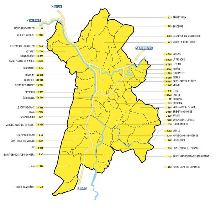 Pollution: la liste des villes où la vignette Crit'Air est obligatoire
