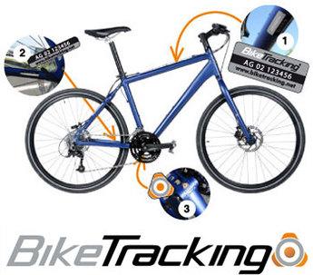 BikeTracking : un service de marquage antivol pour votre vélo