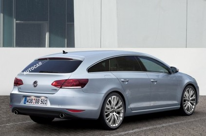 Future Volkswagen Passat CC shooting brake: elle arrive!