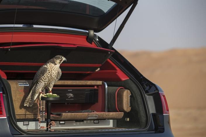 Bentley imagine un kit de fauconnerie pour le Bentayga