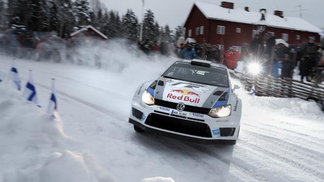 WRC Suède final - Passation de pouvoir ? Sébastien Ogier (VW) bat Sébastien Loeb (Citroën)