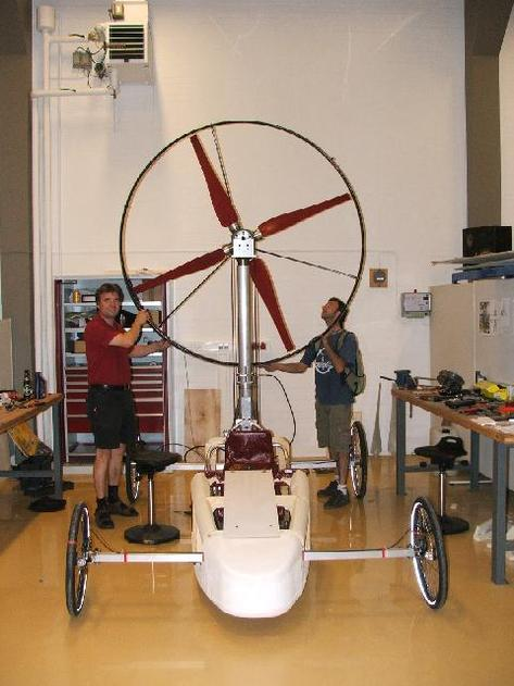 RACING AEOLUS : la 1ère course dédiée aux véhicules éoliens !
