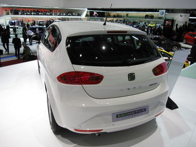 Le Seat Leon Ecomotive Concept ? 99 g CO2/km