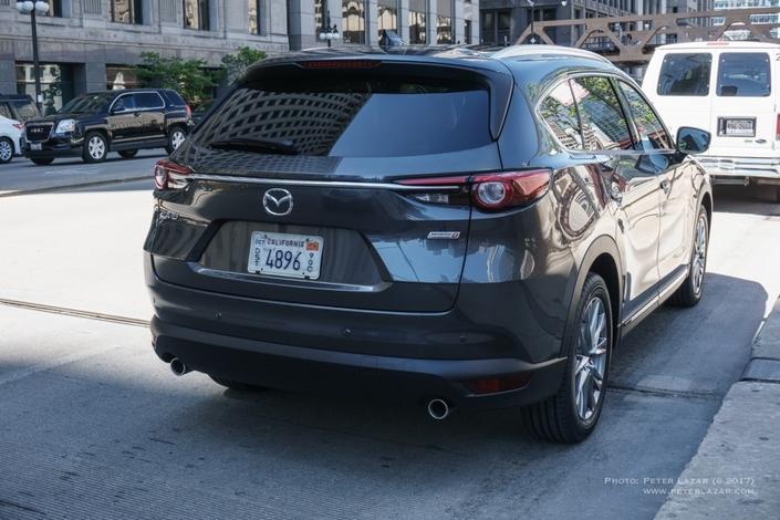 Scoop : le SUV Mazda CX-8 de sortie totalement nu