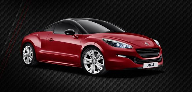 Rapid'news - Une Peugeot RCZ Red Carbon pour la Perfide Albion...