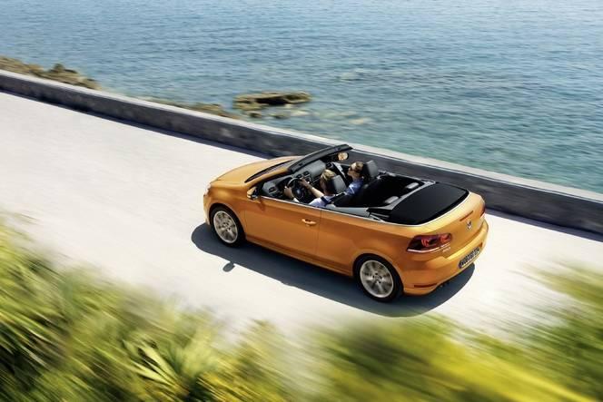 Salon de Francfort 2015 - Volkswagen Golf Cabriolet restylée : dépoussiérage symbolique