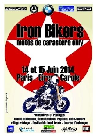 BMW à l'Iron Bikers: y a de la prépa dans l'air