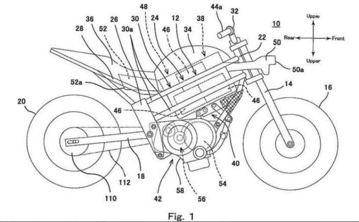 Nouveauté - Kawasaki: une moto électrique très particulière se prépare